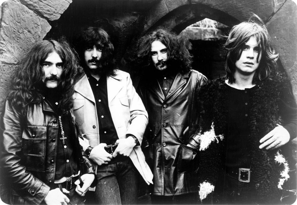 Featuring Bassist and main lyricist Geezer Butler, Guitarist and main songwriter Tony Iommi, Drummer Bill Ward, and Singer/all around wild man Ozzy Osbourne.